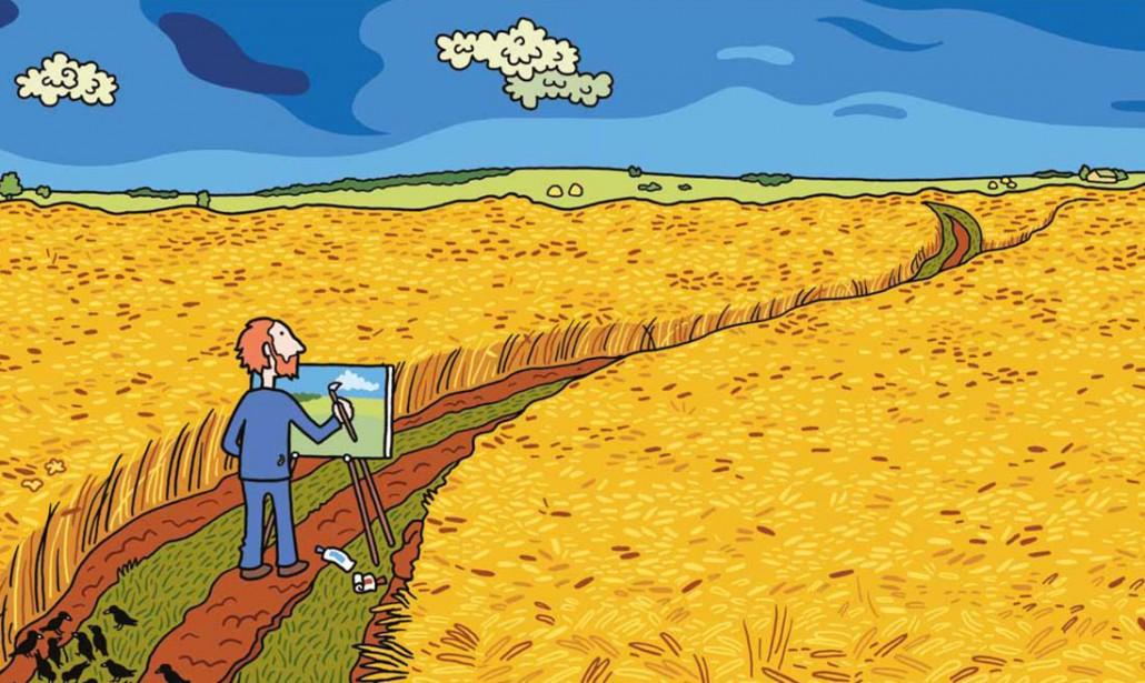 """Vincent"""", ritratto a fumetti di Van Gogh – Nicola D'Agostino (.net)"""